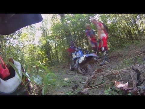 Dirt Biking Adventures - WR400 Stuck In Some Deep Mud Again
