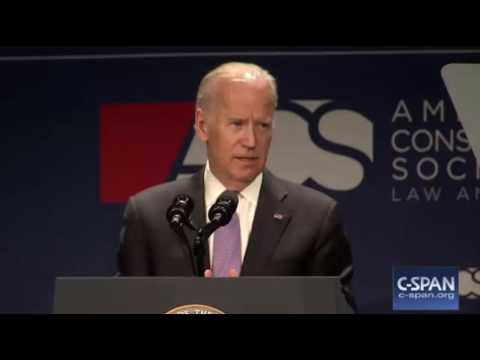 "Joe Biden ACS Convention FULL Speech: ""Trump's Attacks on Judge Are Racist"""