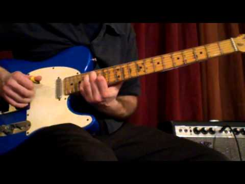 Brother Dave - Jazz Blues Guitar Lesson - Diminished Substitutions - Chords and Arpeggios