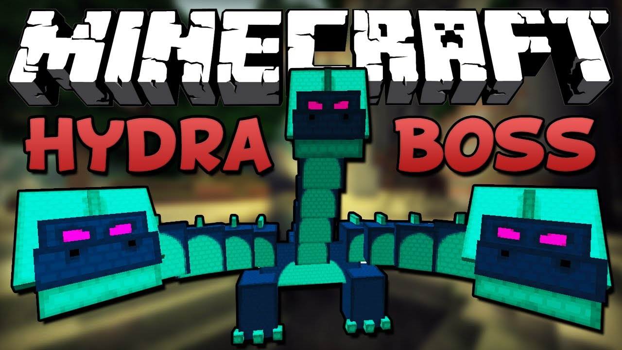 Minecraft EPIC HYDRA BOSS Battle YouTube