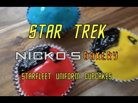 STAR TREK UNIFORM CUPCAKES - Nicko's Bakery