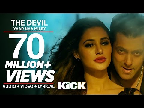 Devil-yaar Naa Miley Full Video Song | Salman Khan | Yo Yo Honey Singh | Kick video