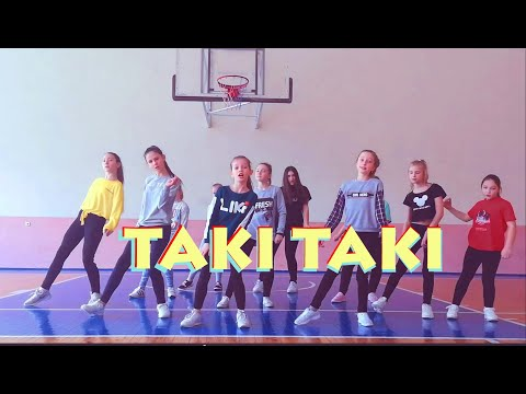 TAKI TAKI  - Kids Dance Cover