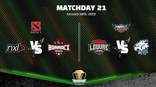 MLBB EVOS VS LOUVRE JG | DOTA2 PG.BARRACX VS NXL - TBOF IESPL