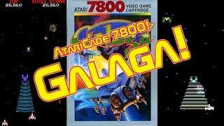AtariCade 7800! Galaga!