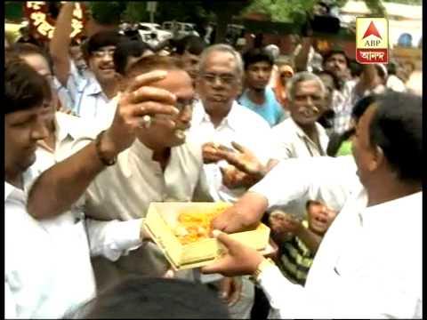 Pranab Mukherjee, President Election - Celebration in Delhi