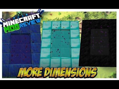 More Dimensions Mod (Dimensiones de Diamante, Oro, Hierro Y Mas!) Minecraft 1.8 ESPAÑOL REVIEW