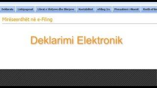 Deklarimi Elektronik