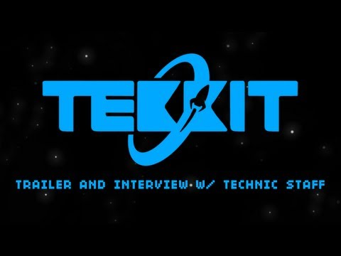 Tekkit for Minecraft 1.5.1 Trailer and Interview with Technic Staff