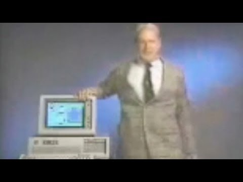 Watch Ballmer promote Windows 1.0 in 1985