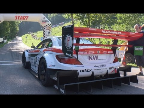 The Fastest Hillclimb Monster! Swiss Champ Reto Meisel and the Mercedes-Benz SLK340 Judd V8, 610HP