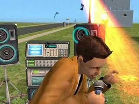 Sims2 Music Video - The Fall - Sparta F.C. #2