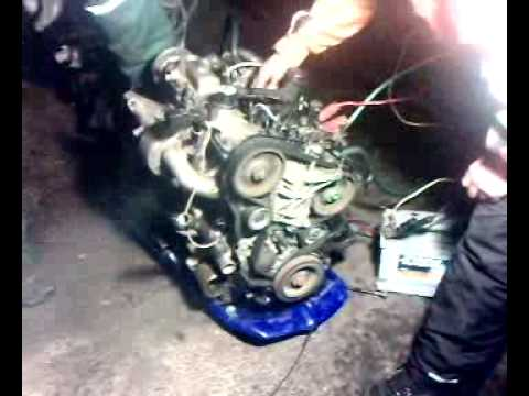 Peugeot 1 9l Diesel Engine Start