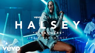 Download Lagu Halsey - Strangers (Vevo Presents) Gratis STAFABAND