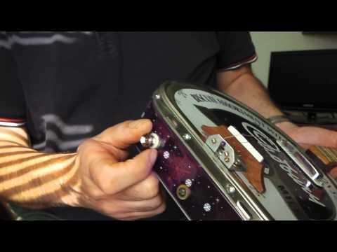 Homemade Cookie / Biscuit Tin Dulcimer Scale Cigar Box Guitar