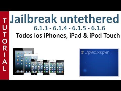 Instalar Cydia - Jailbreak iOS 6.1.6 - iPhone. iPad & iPod Touch