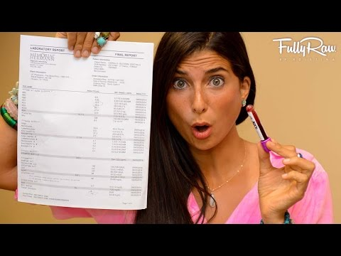 BLOOD TEST RESULTS: 9+ Years FullyRaw Vegan!