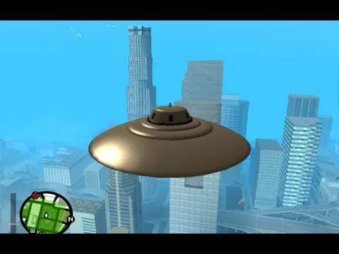 GTA san andreas: how to get a ufo - (GTA san andreas ufo)