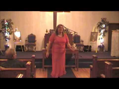Pastor Charlotte England  on fire preaching.. The sign of Jonas.. Jan 4 2015