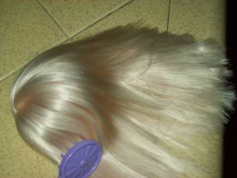 How to dye liv doll wigs with fabric dye ispiered by pixelmari.wmv