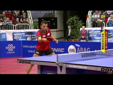 2014 Men's World Cup (ms-qf) MA Long - APOLONIA Tiago [HD@1080p] [Full Match/Chinese]