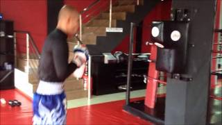 SYNERGY ELITE MMA - THEO GINTING Uppercut Bag Training