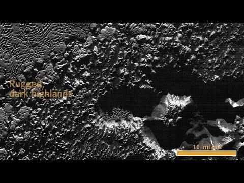 New Horizons' Extreme Close Up of Pluto's Surface - no audio #NASA