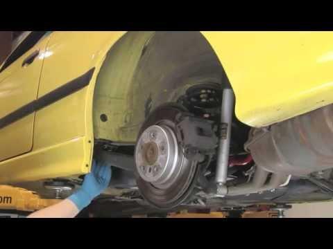 Replacing Rear Trailing Arm Bushings on BMW 3 series 92 thru 05. Z4 thru 08. X3 thru 10