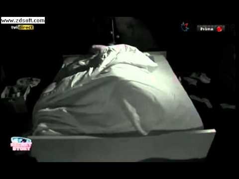Madrugada de 26/10/2012 de Cláudio e Jessica Secret Story 3
