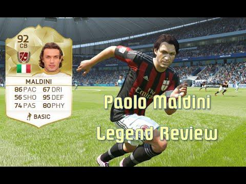 FIFA 16 - Paolo Maldini - Legend Review