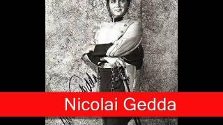 Nicolai Gedda Bizet Carmen 39 La Fleur Que Tu M 39 Avais Jetée 39