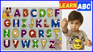 ABC Song for Children | Learn Alphabets with Ryan | ABCD Nursery Rhyme for Kids