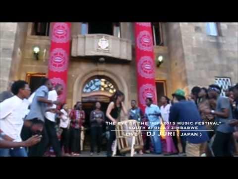 DJ JURI TAIKO DUB LIVE in South Africa / Zimbabwe The eve of the