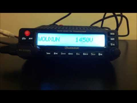 Wouxun KG-UV950P quad band ham radio review