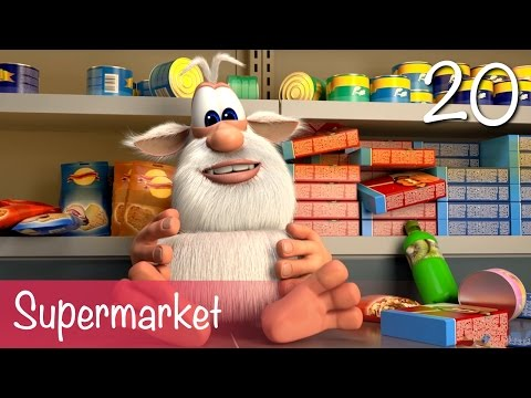 Booba - Supermarket - Episode 20 - Cartoon for kids thumbnail