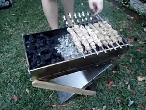 Shish Kabob Grilling How to Grill Shashlik Shish