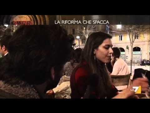Riforma del lavoro e art.18: le opinioni di alcuni giovani a Milano (Piazza Pulita, 22/03/'12)