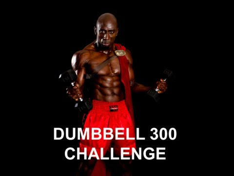 DUMBBELL 300 WORKOUT CHALLENGE