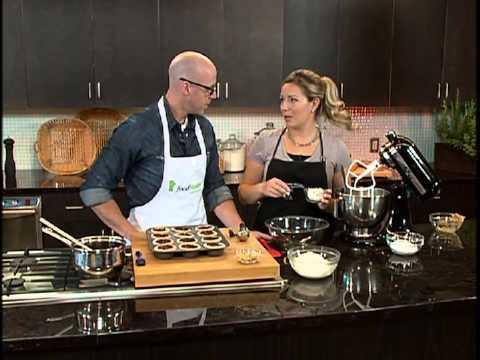 Chocolate Peanut Butter Silk Tarts-Great Tastes 2012
