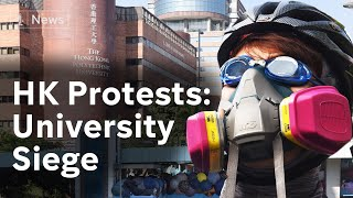 Hong Kong Protests: Siege of Polytechnic University