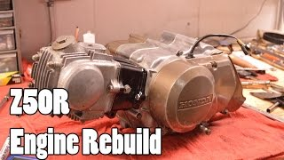 How-To: Honda Z50R XR50R CRF50F Engine Rebuild 1968-2015