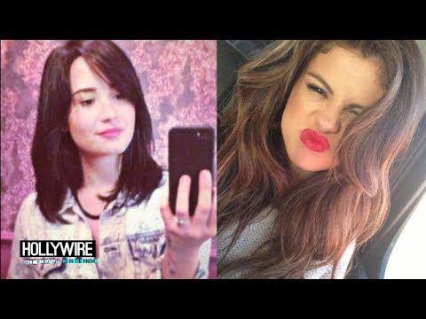 Selena Gomez Vs. Demi Lovato: Best Selfie Face Off!