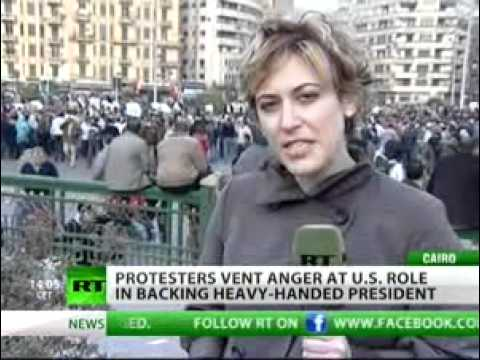 Newshound - Paula Slier in Cairo 3pm local -31 JAN