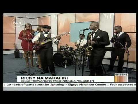 Kenyan Representative At Big Brother Africa Share A Dance With Marafiki Band video