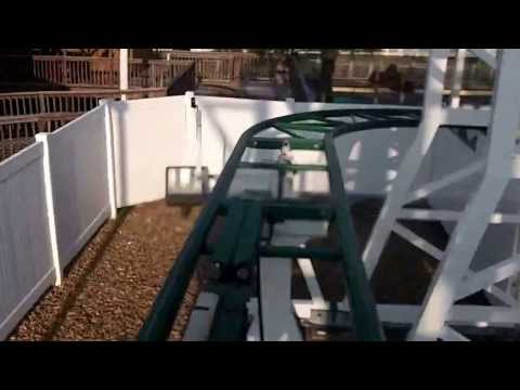 Twist N' Shout Wild Mouse Roller Coaster Front Seat P.O.V. Myrtle Beach SC