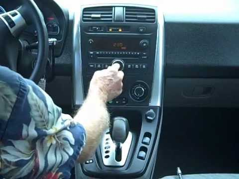 Saturn Vue Car Stereo Removal And Repair 2006 2007 Youtube