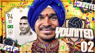 FIFA 19: YOUnited ICON Ronaldo #2 - DER MOTIVIERTE INDER 😂😂