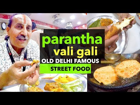 Paranthe Vali Gali | Chandani Chowk | Delhi Famous Street Food | Indian Breakfast