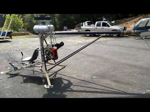 Chris Gammons ultralight mosquito helicopter with rotax 503 DCDI