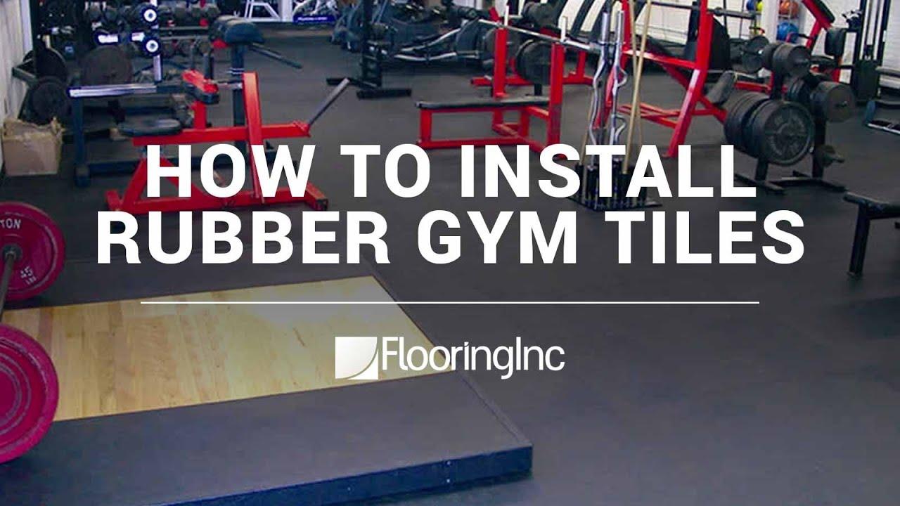 Gym floor tile